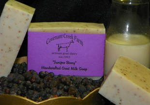 Juniper Berry Goat Milk Soap
