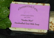 Garden Mint Goat Milk Soap