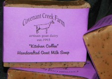 Kitchen Coffee Goat Milk Soap