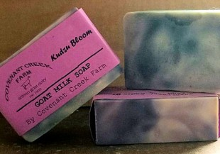 Kudzu Bloom Goat Milk Soap