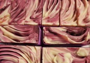 Raspberries & Creme Goat Milk Soap