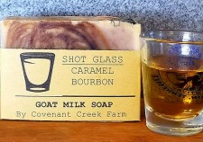 Shot Glass Goat Milk Soap